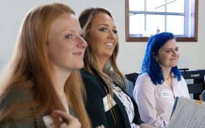 圣母学院展示赋权女企业家的专业知识